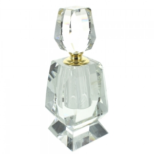 Wholesale Extra Large Heavy Clear Glass Perfume Bottle