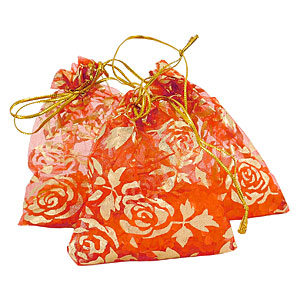 Wholesale rose fragrance bead pouches