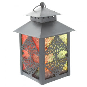 Small Lacey Lantern, Coloured