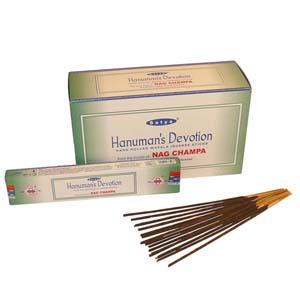 Hanuman's Devotion Incense Sticks- Satya Religious Range