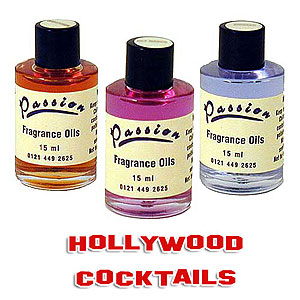passion fragrance oils hollywood cocktail range 15ml