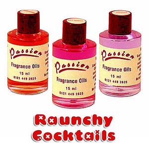 passion fragrance oils raunchy cocktail range 15ml