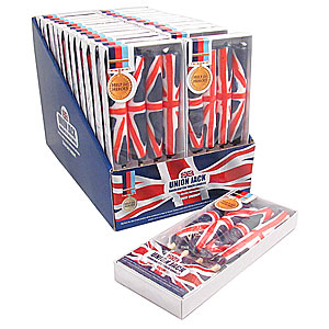 Wholesale Union Jack Candle Torch - Pack 4