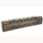 Wholesale Antiqued Cut Work Incense Box Burner