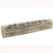 Wholesale Incense Holder Ash Catcher Box - Antiqued Star