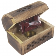 Wholesale Mini Box Cone Burner - Mango Wood