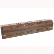 Wholesale Incense Holder Ash Catcher Box - Jali Star