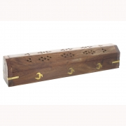Wholesale Incense Holder Ash Catcher Box - Om