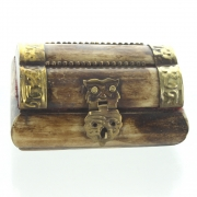 Wholesale Bone And Brass Mini Box