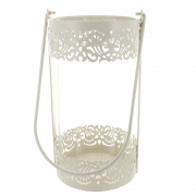Wholesale Round Cream Candle Lantern