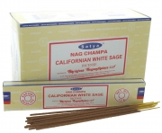 Wholesale Satya Nag Champa Californian White Sage Incense Sticks
