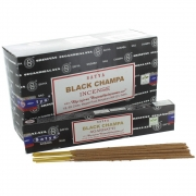 Black Champa Incense Sticks - Satya Ayurvedic Range