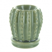 Green Cactus Oil Burner