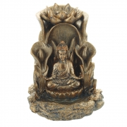 Wholesale Bronze Buddha Backflow Incense Cone Burner