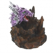 Wholesale Purple Dragon Backflow Incense Cone Burner With Light