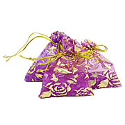 Wholesale lavender fragrance bead pouches
