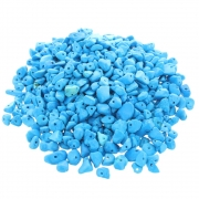Wholesale Drilled Chip Beads - Blue