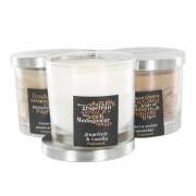 Brown and Cream Range - Scented Candle in Jar - Small