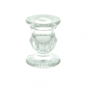 Wholesale Glass Candle Stick With Pattern