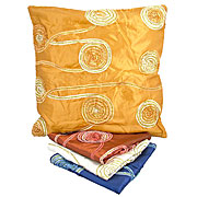 Wholesale Spiral Trim Silky Cushion Cover
