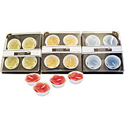 Wholesale Classic Flower Tea Light Candle Set (4)