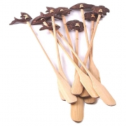 Wholesale Coconut Cocktail Stirrers - 10 Assorted