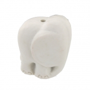 Ceramic Cord Pull Elephant Trunk Down