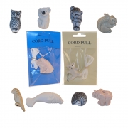 Ceramic Cord Pulls - Random Assortment of 10