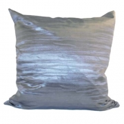 Wholesale Crushed Silky Cushion Cover - Grey