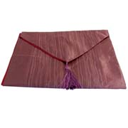 Wholesale crushed silky table runner pink 1