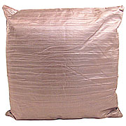 Wholesale Crushed Silky Cushion Cover - Brown