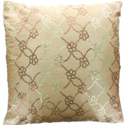 Wholesale Sequin Silky Cushion Cover - Gold