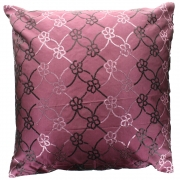 Wholesale Sequin Silky Cushion Cover - Pink