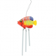 Wooden Fish Windchimes - Very Small