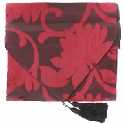 Flower Table Runner - Red