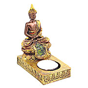 Wholesale Gold Buddha Tea Light Holder