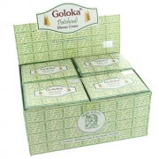 Goloka Patchouli Dhoop Cones - Box of 12 Packs
