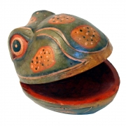 Wholesale Frog Wooden Decorative Box
