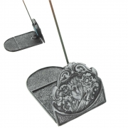 Two Piece Incense Holder - Woman's Head