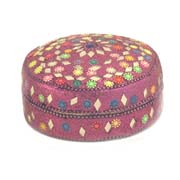laquer box 4 inch purple 1