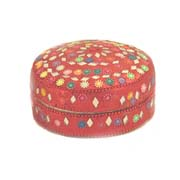 laquer box 4 inch red 1