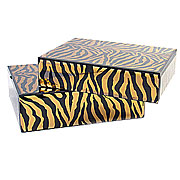 Wholesale Large Mirror Box Nest 2 - Tiger