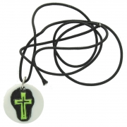 Wholesale Green Cross Pendant