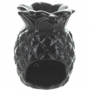 Black Pineapple Oil Burner - Large
