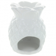 White Pineapple Oil Burner - Large