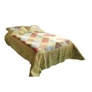 Wholesale Lime Vintage Quilted Throw