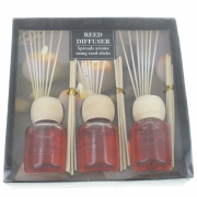 Wholesale Set 3 Reed Diffusers - Rose