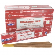 Dragon's Fire Incense Sticks - Satya Ayurvedic Range