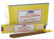 Wholesale Satya Nag Champa Seven Chakra Incense Sticks