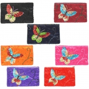 Wholesale Butterfly Sequin And Bead Purse